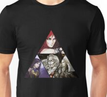 Castlevania Triforce (Alucard, Shanoa, Simon Belmont and Shanoa) Unisex T-Shirt