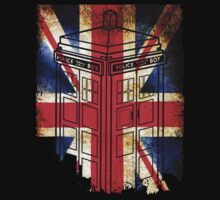 British Flag Tardis by bestbrothers