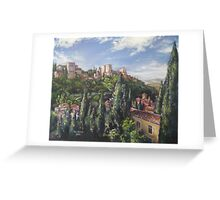The Alhambra Greeting Card