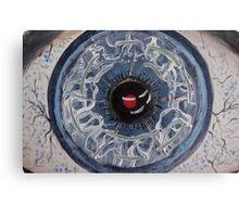 The Inhuman Eye Canvas Print