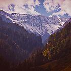 A Himalayan landscape by Anna Alferova