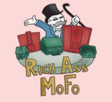 Rich Ass Mofo Shirt One Piece - Short Sleeve