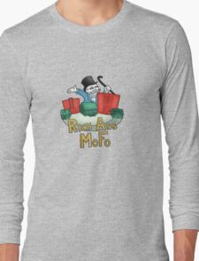 Rich Ass Mofo Shirt Long Sleeve T-Shirt