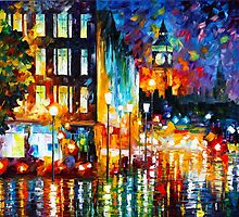 LONDON'S LIGHTS by Leonid  Afremov
