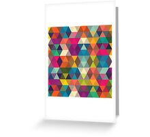 Abstract stylish pattern design Greeting Card