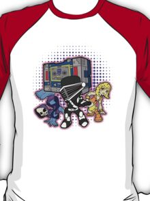 Old Skool 80s Cartoon B Boys (and girl) T-Shirt