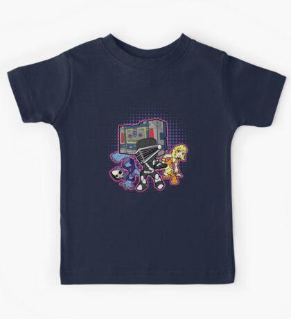 Old Skool 80s Cartoon B Boys (and girl) Kids Tee