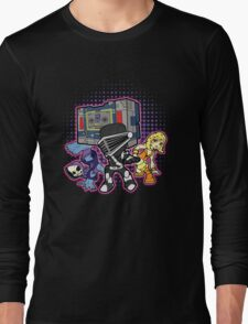 Old Skool 80s Cartoon B Boys (and girl) Long Sleeve T-Shirt