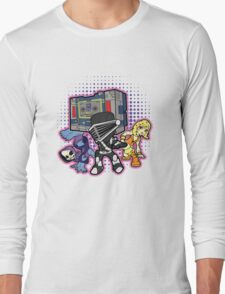 Old Skool 80s Cartoon B Boys (and girl) Long Sleeve T-Shirt
