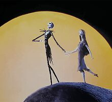 The Nightmare Before Christmas - Jack & Sally by Bastien13