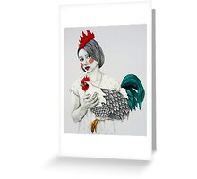 Sleek Gada Greeting Card