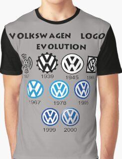 Volkswagen Logo Evolution Graphic T-Shirt