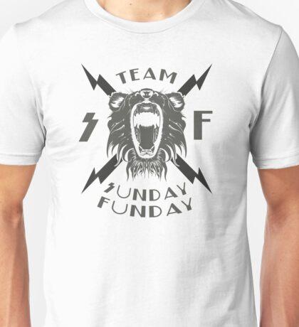 Team Sunday Funday Lion Unisex T-Shirt
