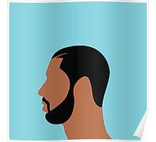 Drake Illustration Poster