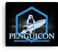 Ltd Edition Blue Penguicon Galaxy Canvas Print