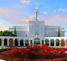 Bountiful Utah Temple - Above the Tree 32x16 Sticker