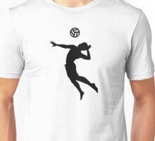 Volleyball player Unisex T-Shirt