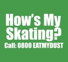 How's my skating? (white) by beaterblocker