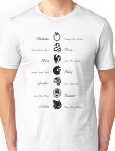 Seven Deadly Sins Unisex T-Shirt