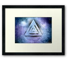Futuristic Abstract Framed Print