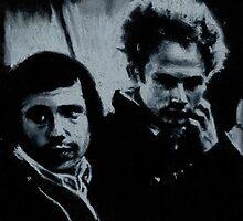 Simon and Garfunkel by Tbevie