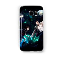 Amy and The Doctor in Space Samsung Galaxy Case/Skin