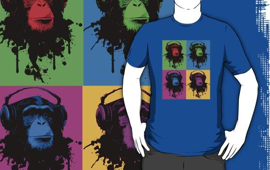 Monkey Warhol by dibsterscown