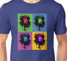 Monkey Warhol Unisex T-Shirt