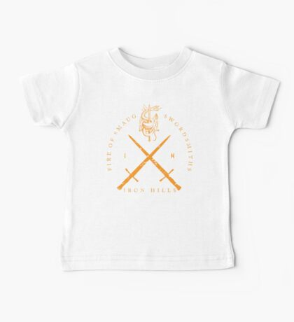Fire of Smaug Swordsmiths Baby Tee