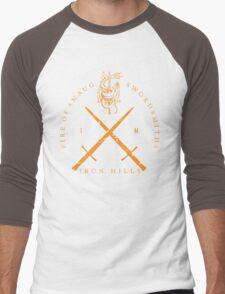 Fire of Smaug Swordsmiths Men's Baseball ¾ T-Shirt