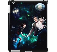 Amy and The Doctor in Space iPad Case/Skin