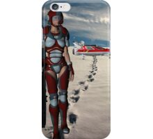 A Long Walk home iPhone Case/Skin