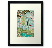 Forest of my Fairy Tale. Framed Print