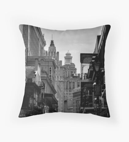 Rue Bourbon Throw Pillow