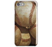 Vintage Digital Baseball Artwork iPhone Case/Skin