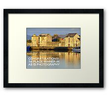 Banner For As Is Photography Challenge Framed Print