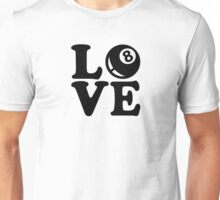 Billiards love Unisex T-Shirt