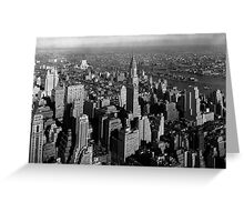 Chrysler Building and New York City Greeting Card