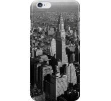 Chrysler Building and New York City iPhone Case/Skin