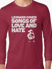 Leonard Cohen - Songs of Love and Hate Long Sleeve T-Shirt