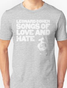 Leonard Cohen - Songs of Love and Hate T-Shirt