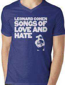 Leonard Cohen - Songs of Love and Hate Mens V-Neck T-Shirt