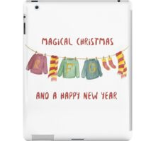 from weasley family to you iPad Case/Skin