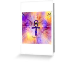 Ankh Of Life Greeting Card