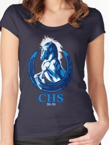 CHS Class of 2004 Zip Up Women's Fitted Scoop T-Shirt