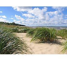 Remembering Summer Beach Scenes Photographic Print