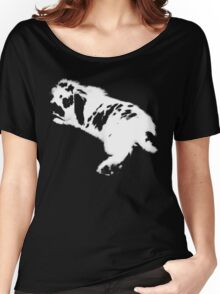 Rabbit White Women's Relaxed Fit T-Shirt