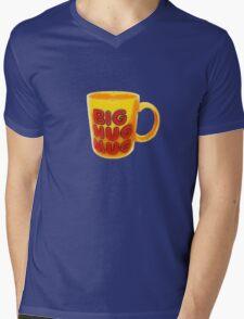 Big Hug Mug Mens V-Neck T-Shirt