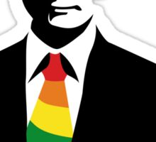 Putin LGBT Supportive Tie Sticker
