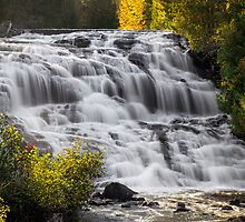 Bond Falls Cascade by Kenneth Keifer